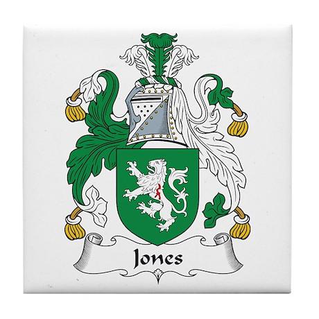 Jones III (Wales) Tile Coaster