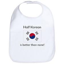 Half Korean Bib