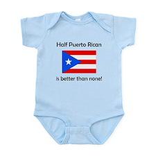 Half Puerto Rican Body Suit
