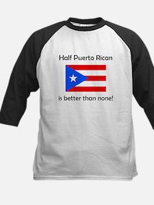 Half Puerto Rican Baseball Jersey