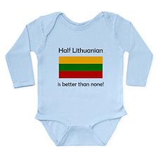 Half Lithuanian Body Suit