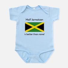 Half Jamaican Body Suit