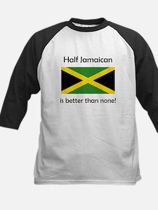 Half Jamaican Baseball Jersey
