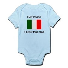 Half Italian Body Suit
