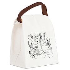 Sad Destructor Canvas Lunch Bag