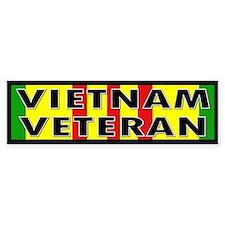 VIETNAM VET Bumper Car Sticker