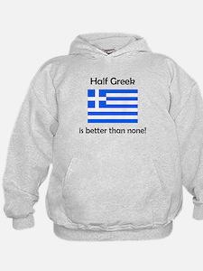 Half Greek Hoodie