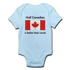 Half Canadian Body Suit
