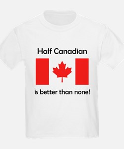 Half Canadian T-Shirt
