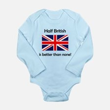 Half British Body Suit