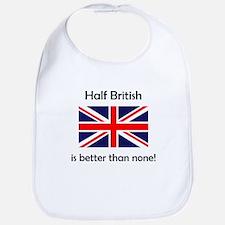 Half British Bib