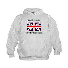 Half British Hoodie