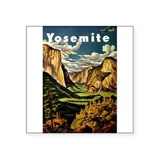 Vintage Yosemite Travel Sticker