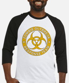 Zombie Outbreak Response HE Gold Baseball Jersey