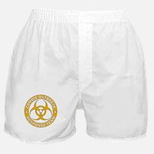 Zombie Outbreak Response HE Gold Tea Boxer Shorts