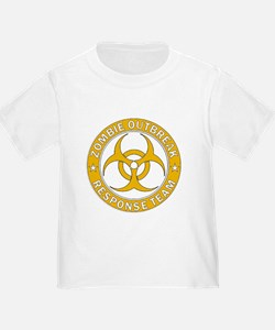 Zombie Outbreak Response Gold Team T-Shirt