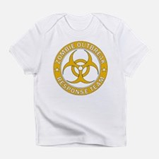 Zombie Outbreak Response Gold Team Infant T-Shirt