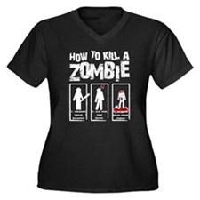 How to kill a Zombie Plus Size T-Shirt