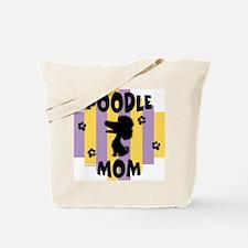 Poodle Mom Tote Bag