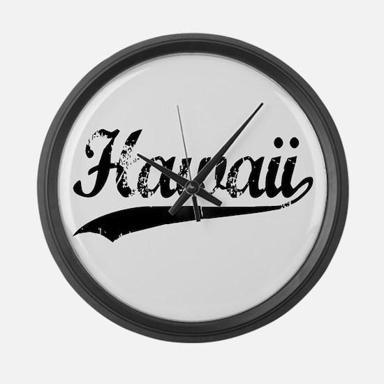 Hawaii Large Wall Clock