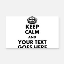 keep calm gifts Rectangle Car Magnet