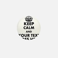 keep calm gifts Mini Button (10 pack)