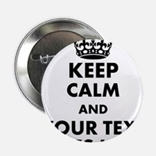 """keep calm gifts 2.25"""" Button (100 pack)"""