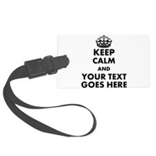 keep calm gifts Luggage Tag