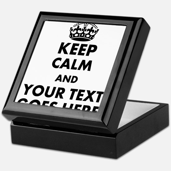 keep calm gifts Keepsake Box