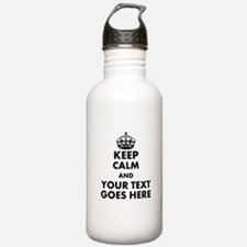 keep calm gifts Water Bottle