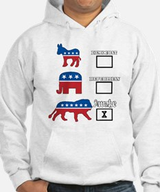 Not Democrat Not Republican We are awake. Hoodie