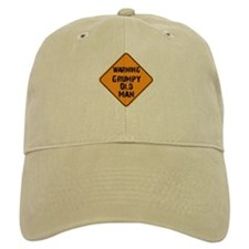 Grumpy Old Man Warning Baseball Cap