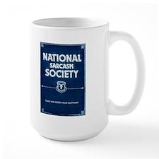 Grumpy's National Sarcasm Society Mug