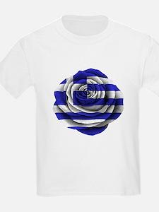 Greek Rose Flag T-Shirt