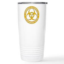 Zombie Outbreak Respons Travel Coffee Mug