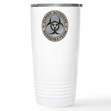 Zombie Response Team Color Travel Mug