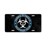 Zombie License Plates