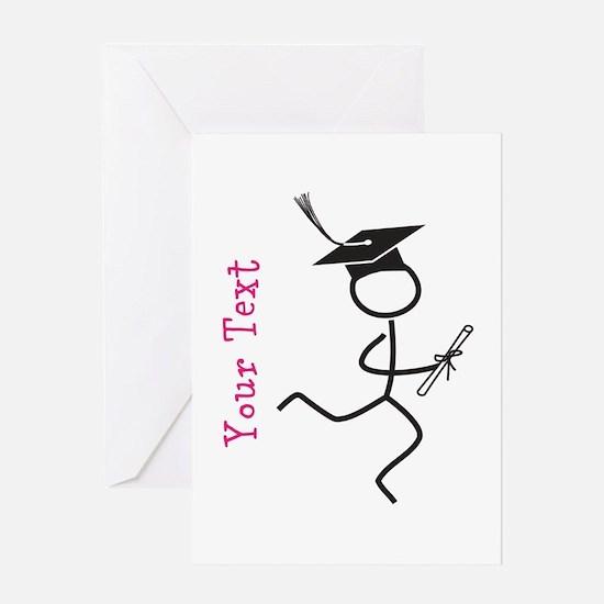 Custom Grad Runner © Pink Greeting Cards