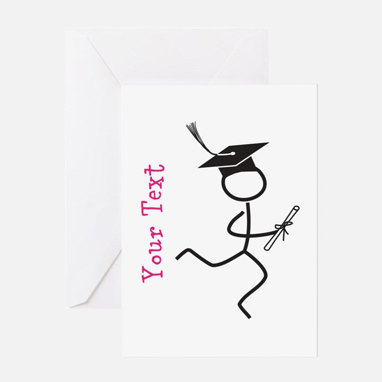 Custom Grad Runner © Pink Greeting Cards