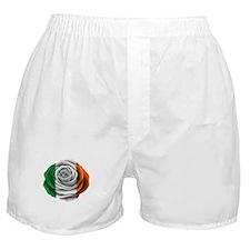 Irish Rose Flag Boxer Shorts