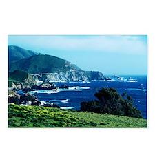 Big Sur Coastline Postcards (Package of 8)