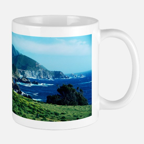 Big Sur Coastline Mugs
