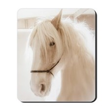 Cream Draft Glamour Mousepad