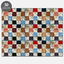 Colorful quilt pattern Puzzle