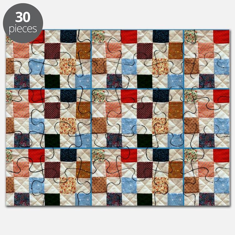 Quilt Patterns Puzzles, Quilt Patterns Jigsaw Puzzle Templates, Puzzles Online - CafePress
