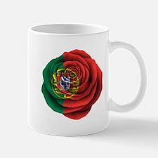 Portuguese Rose Flag Mugs