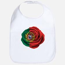 Portuguese Rose Flag Bib