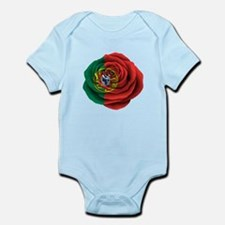Portuguese Rose Flag Body Suit