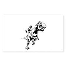 Cute Jesus dinosaur Decal