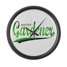 Master Gardner Large Wall Clock